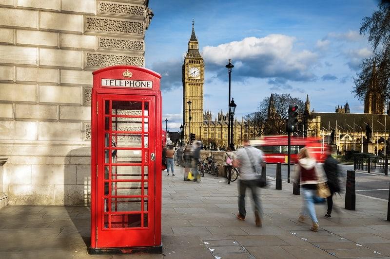Wakacje w Londynie